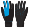 Nordski Jr Racing WS перчатки детские black-blue - 1
