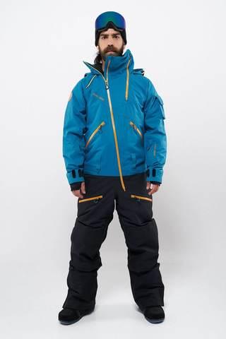 Cool Zone KITE мужской комбинезон для сноуборда морской-черный