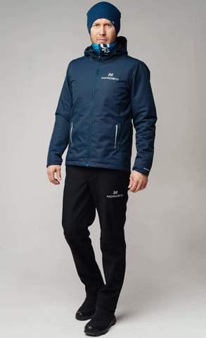 Nordski Urban утепленный костюм мужской синий