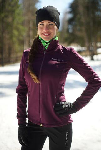 Nordski Motion женская разминочная куртка purple