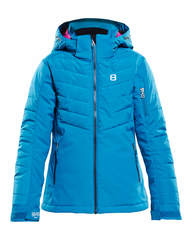 8848 Altitude Tella детская горнолыжная куртка fjord blue
