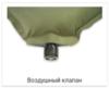Alexika Alpine Plus самонадувающийся коврик pine green - 4