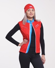 Nordski National детский лыжный жилет red