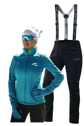Nordski Motion Premium разминочный лыжный костюм женский Breeze