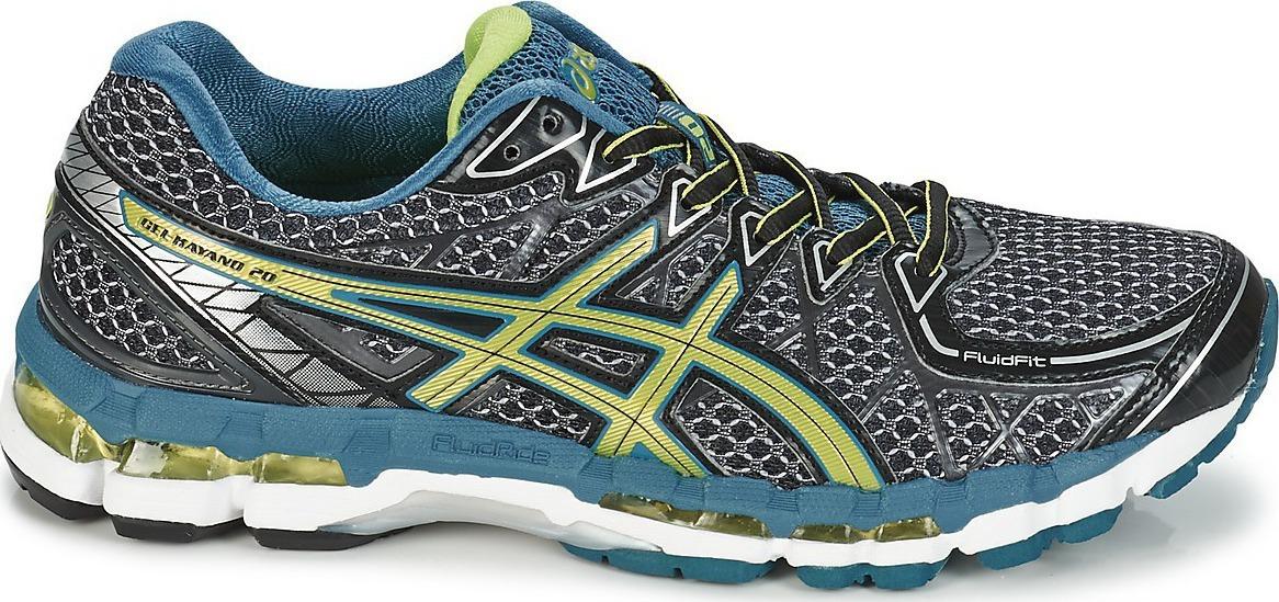 Asics Gel-Kayano 20 кроссовки для бега мужские grey - 3