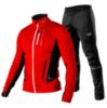 Victory Code Speed Up разминочный лыжный костюм красный - 1