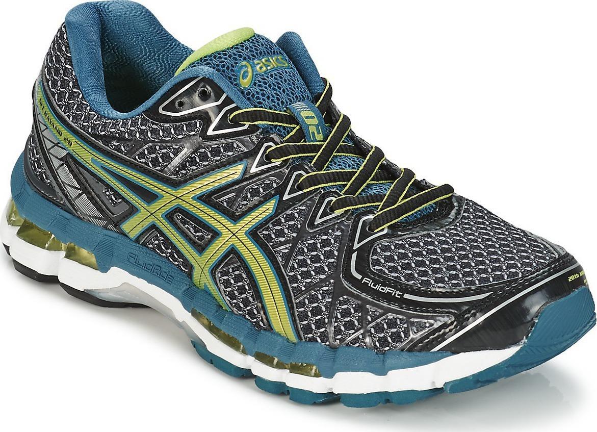 Asics Gel-Kayano 20 кроссовки для бега мужские grey - 6
