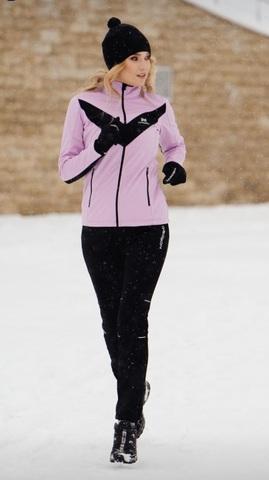 Утепленный лыжный костюм женский Nordski Base Premium orchid