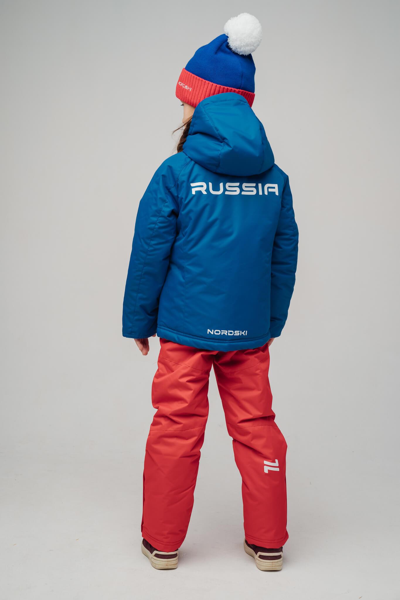 Nordski Kids Patriot утепленная лыжная куртка детская - 3