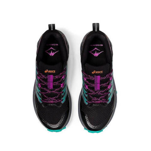 Asics Gel Trabuco Terra кроссовки для бега женские черные-бирюзовые