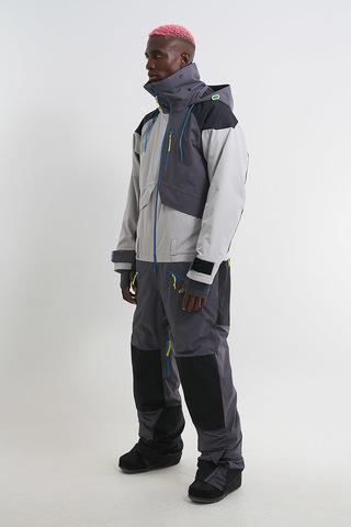 Комбинезон для сноуборда мужской Cool Zone ASAP асфальт-черный