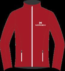 Nordski Jr Россия разминочная куртка детская