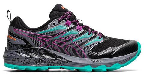 Asics Gel Tabuco Terra кроссовки для бега женские черные-бирюзовые