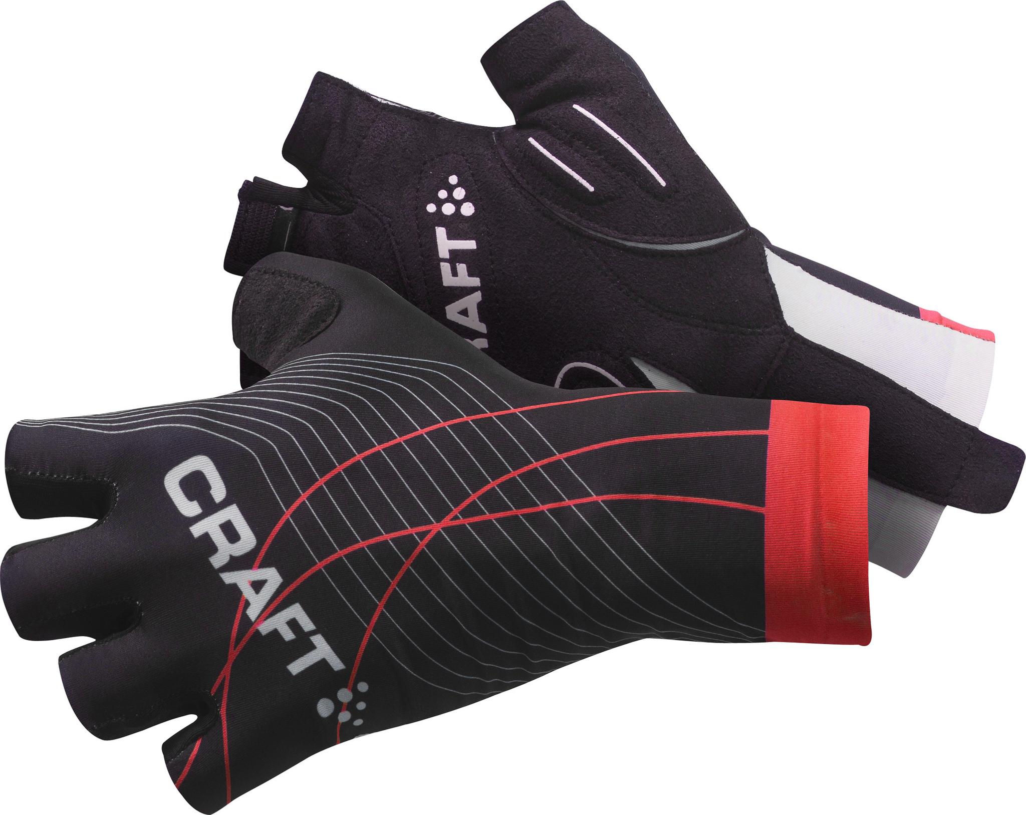 Велоперчатки Craft Elite чёрные
