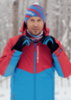 Nordski Montana RUS утепленная куртка мужская красная синяя - 4