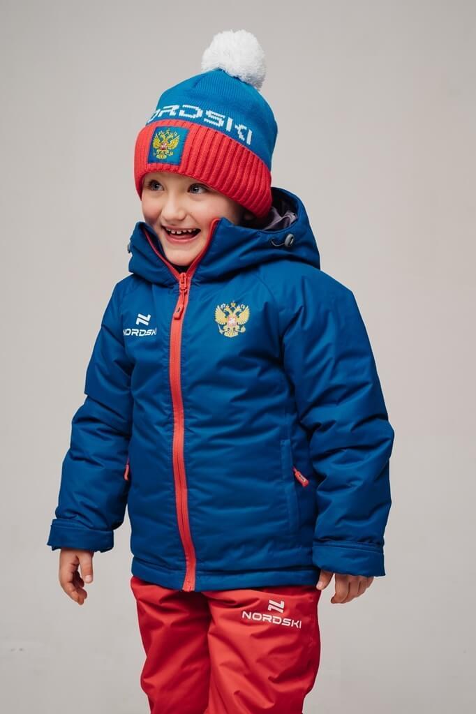 Nordski Kids Patriot утепленная лыжная куртка детская - 4