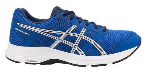 Asics Gel-Contend 5 кроссовки беговые мужские синие