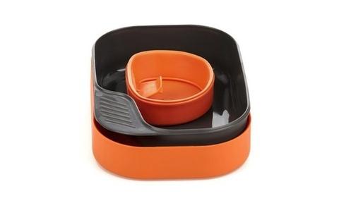 Wildo Camp-A-Box Basic набор туристической посуды orange
