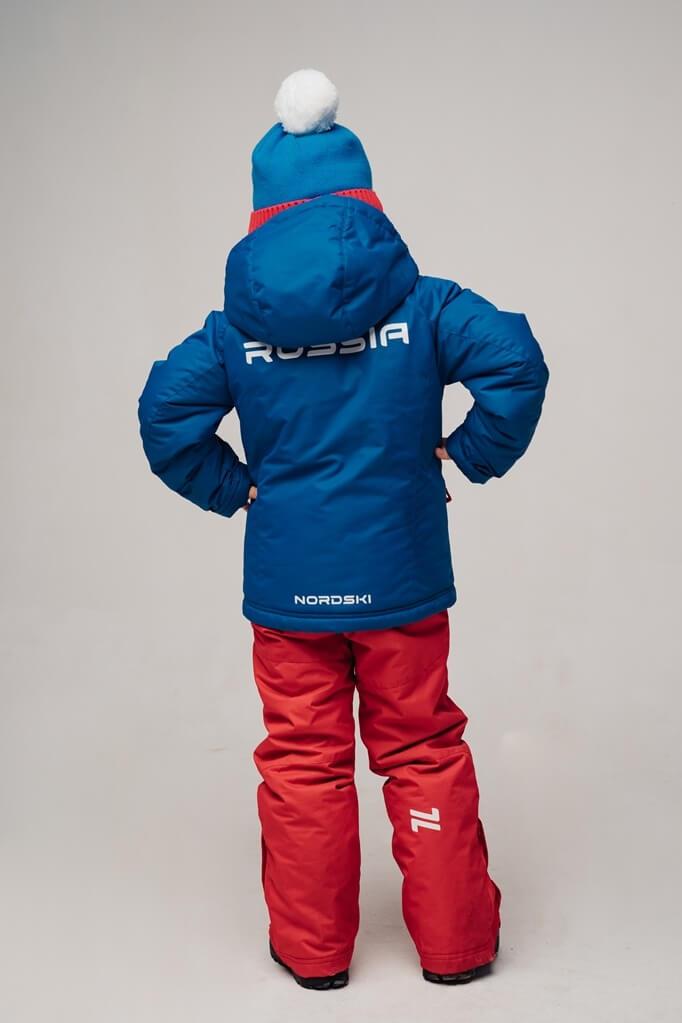 Nordski Kids Patriot утепленная лыжная куртка детская - 5