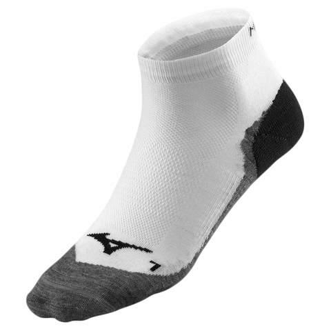 Спортивные носки Mizuno DryLite Race Mid белые