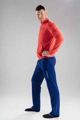 Nordski Zip Base спортивный костюм мужской red-navy
