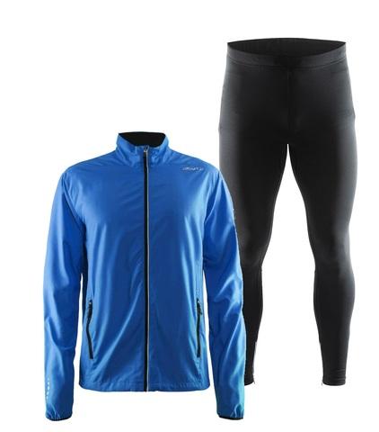 Craft Mind Active костюм для бега мужской blue