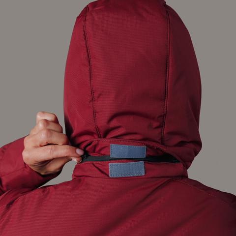 Nordski Mount лыжная утепленная куртка женская бордо