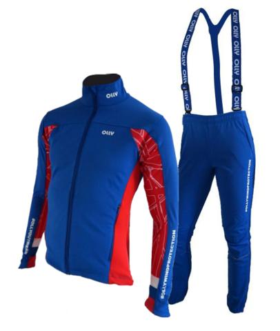 Olly разминочный лыжный костюм Russia 2