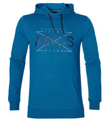 Спортивная толстовка мужская Asics Graphic Hoody синяя