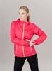 Nordski Run куртка для бега женская Pink-Yellow - 3