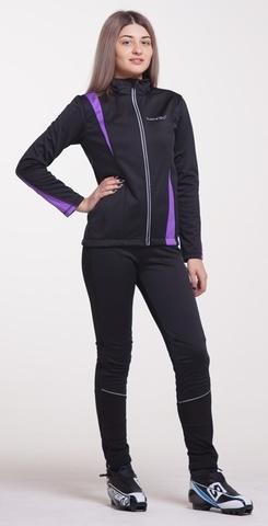 Nordski Active женский разминочный костюм фиолет