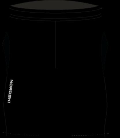Nordski Premium Run шорты обтягивающие Black-Orange