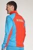 Nordski National Premium разминочный лыжный костюм мужской Blue-Black - 3