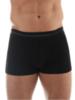 Термобелье мужское Brubeck Comfort Wool трусы черный - 1