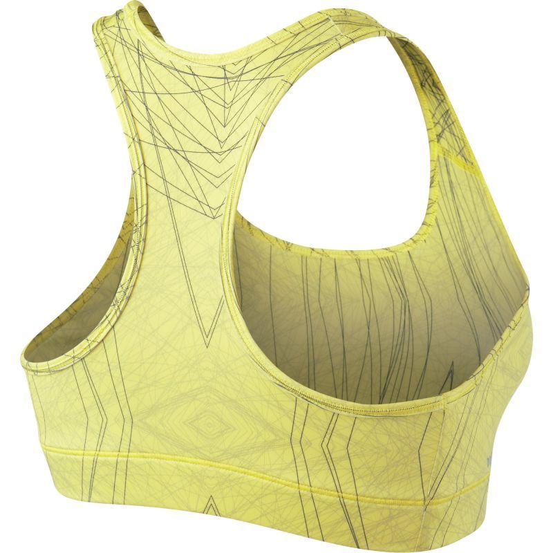 Топ л/а Nike Pro Bra Printed (W) жёлтый - 2