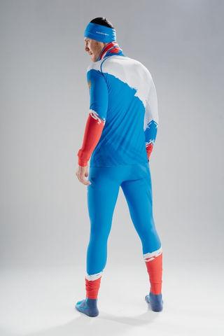 Nordski Premium RUS лыжный гоночный комбинезон blue