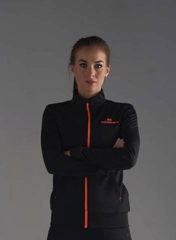 Nordski Zip толстовка женская black-orange