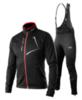 Victory Code Dynamic Warm разминочный лыжный костюм со спинкой black - 1