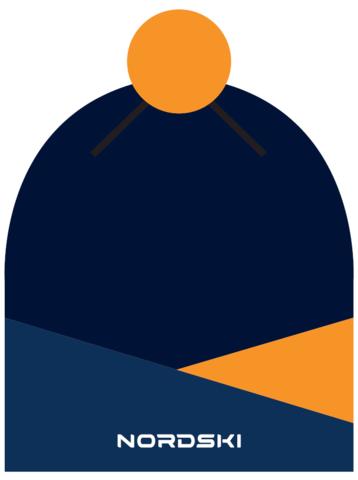 Nordski Line лыжная шапка orange