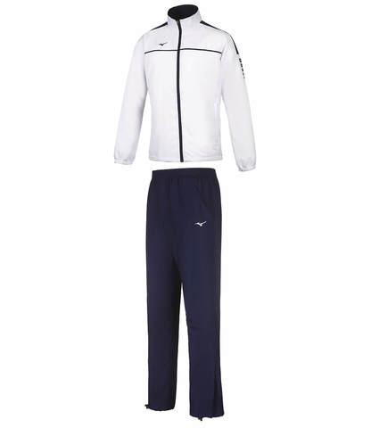 Mizuno Micro Tracksuit костюм спортивный мужской синий-белый