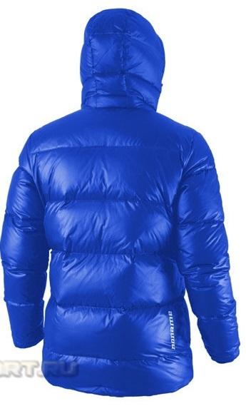 Куртка пуховая Noname Heavy down унисекс (blue) - 3