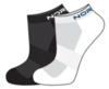 Nordski Run комплект спортивных носков black-white - 3