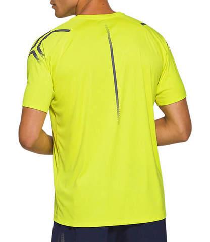 Asics Icon Ss футболка для бега мужская желтая