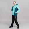 Утепленный лыжный костюм женский Nordski Base sky-deep teal - 1