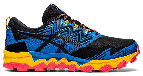 Asics Gel Fujitrabuco 8 GoreTex кроссовки для бега мужские синие-оранжевые