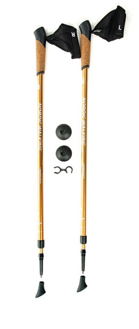 Kaiser Sport Nordic Walking Gold телескопические палки для скандинавской ходьбы