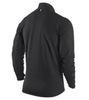 Футболка Nike Element 1/2 Zip LS /Рубашка беговая чёрная - 2