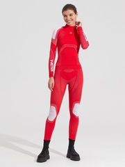 V-MOTION Alpinesports женское термобелье комплект красный