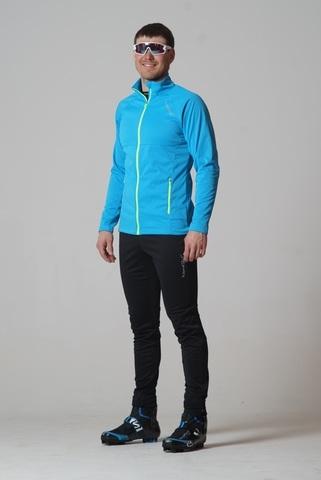 Nordski Elite мужской лыжный костюм blue