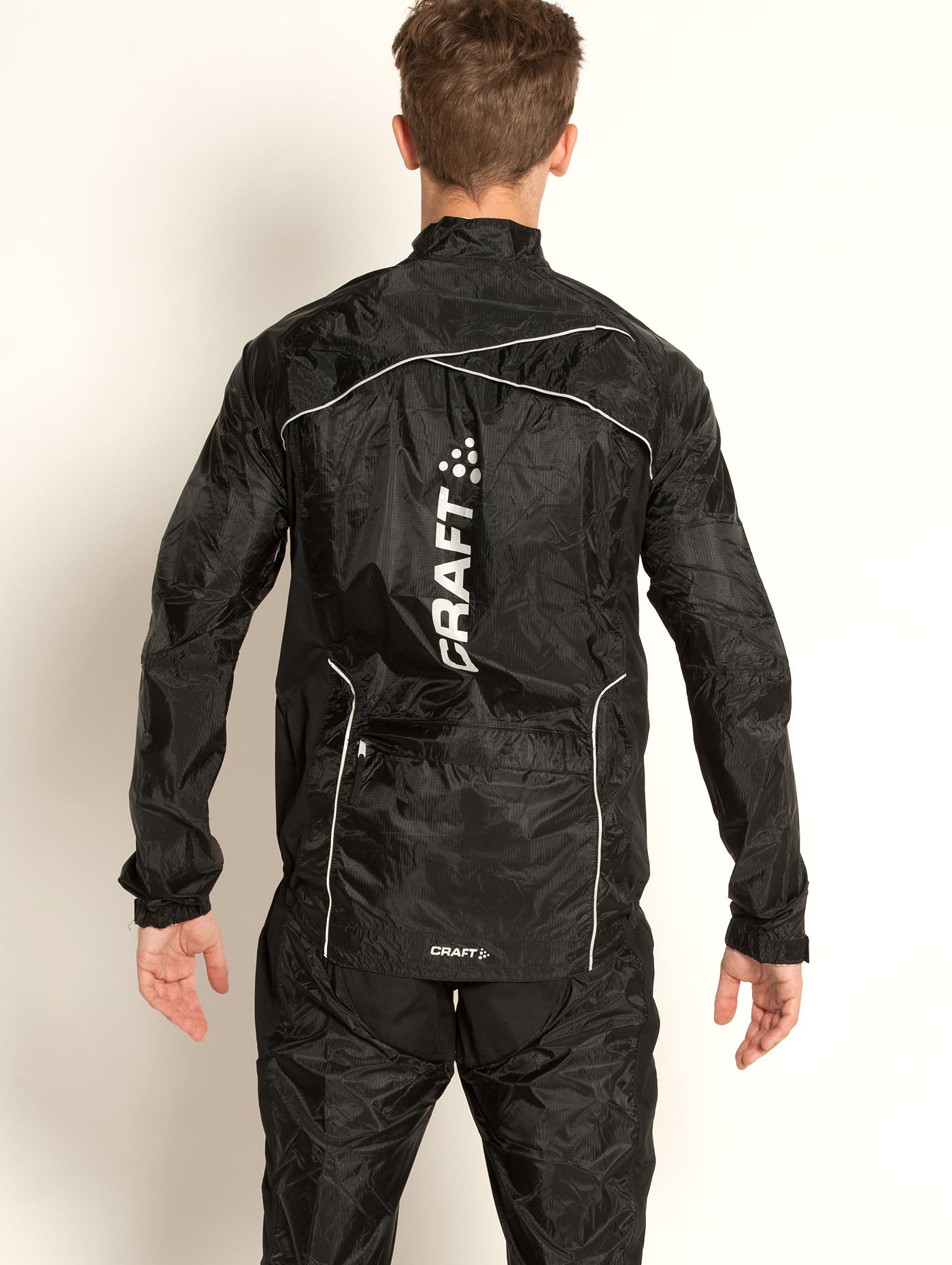 Велокуртка Craft Performance Rain мужская черная - 3